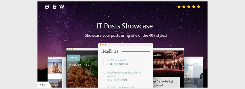 JT Posts Showcase