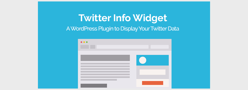 Twitter Info Widget WordPress Plugin
