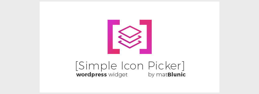 Simple Icon Picker
