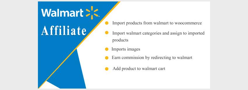 Walmart to WooCommerce Affiliate