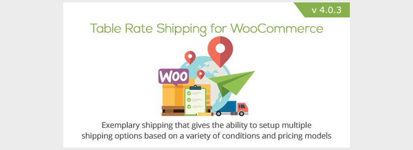 tabla de tarifas transporte woocommerce