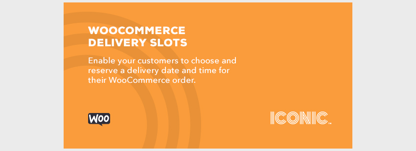 Delivery slots woocommerce