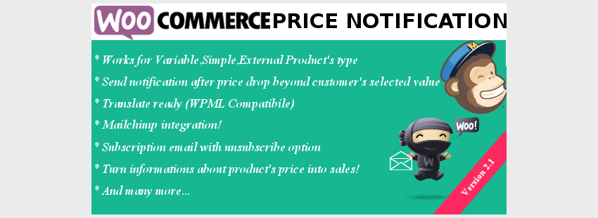 Plugin WooCommerce Price Notification