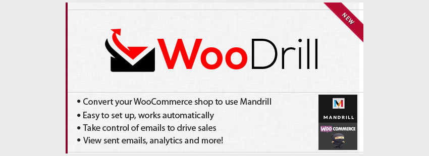 WooDrill - Mandrill For WooCommerce