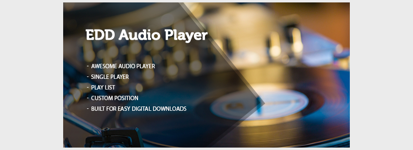 Easy Digital Downloads Product Audio Sampler Player
