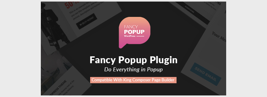 Fancy Popup - Popup Plugin For WordPress