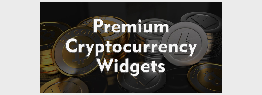 Widgets para criptomonedas en WordPress