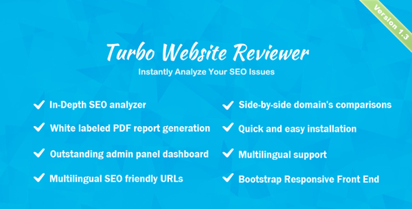 Turbo Website Reviewer - In-Depth SEO Analysis Tool