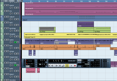 Preview for Master The Transport Panel in Cubase: Part 1
