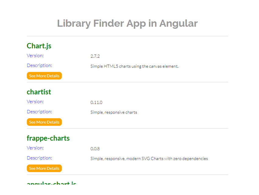 Create a Library Finder App in Angular: Introduction