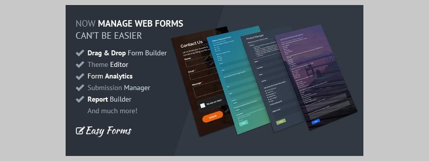 Générateur de formulaires Easy Forms