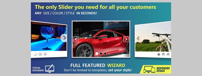Custom Slider and Wizard