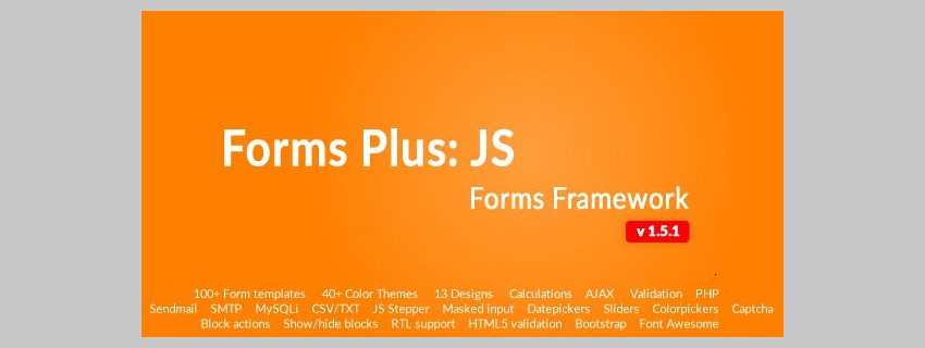 Best JavaScript Forms of 2019
