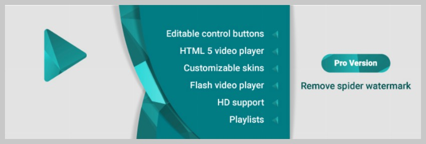 Spider Video Player