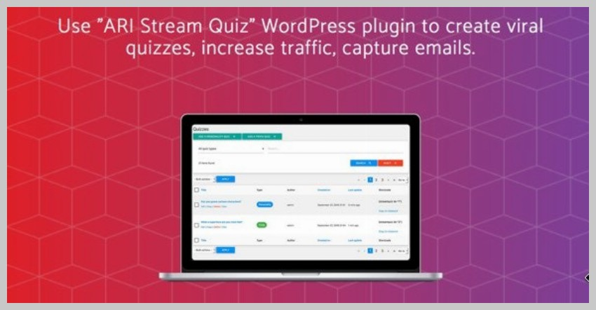 ARI Stream Quiz Plugin