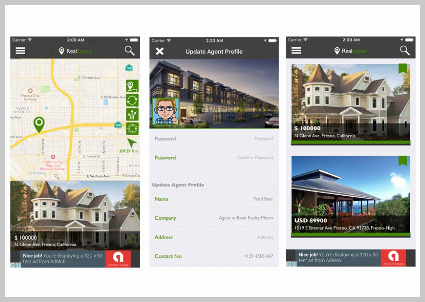 RealEastate Finder App