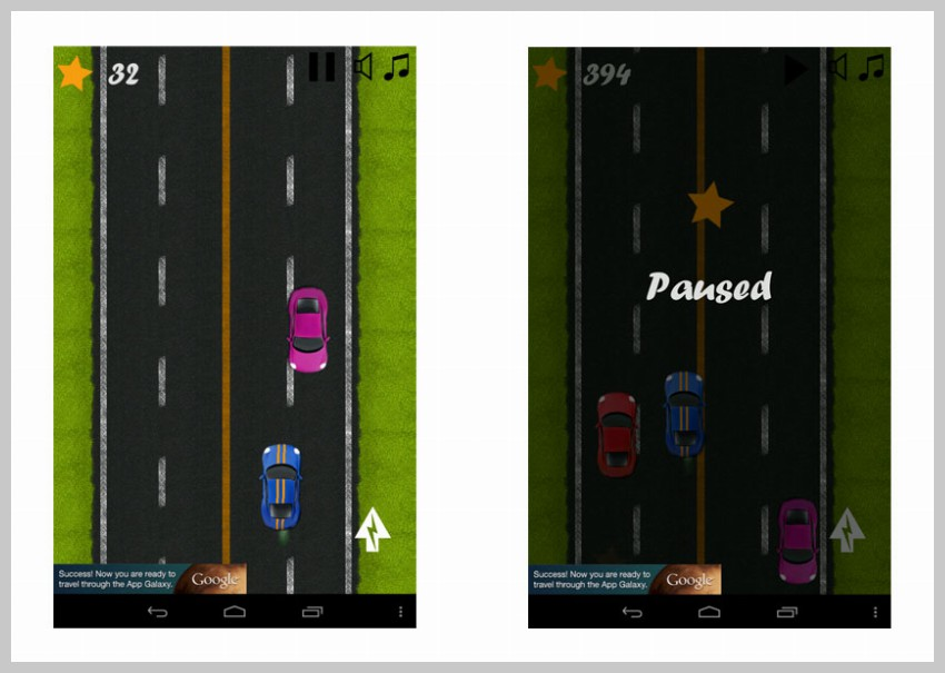 Highway Racing Game Template