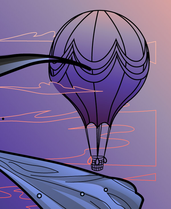 Adding Detailing to the Hot Air Balloon 1