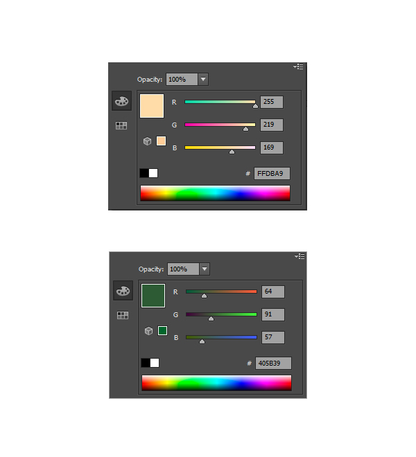 Choosing the Background Color