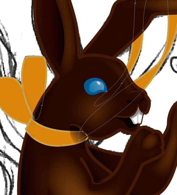 Making a Chocolate Bunny 5