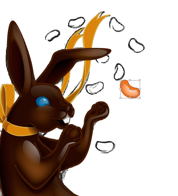 Making a Chocolate Bunny 6