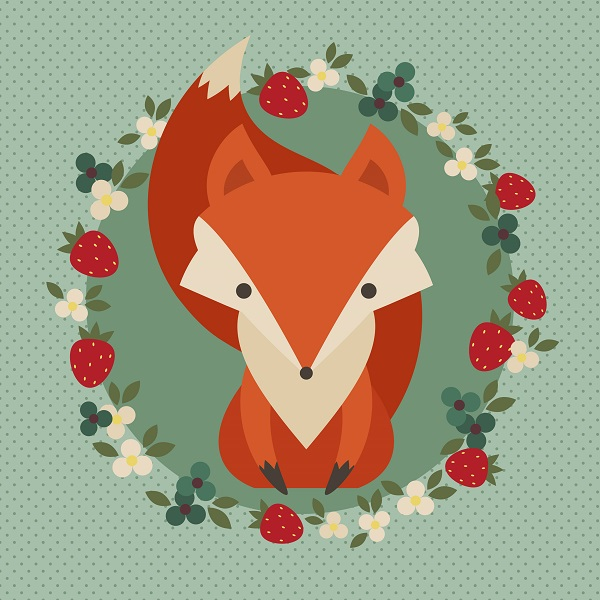 Cute Character Design Tutorial : How to create a retro fox illustration in adobe illustrator