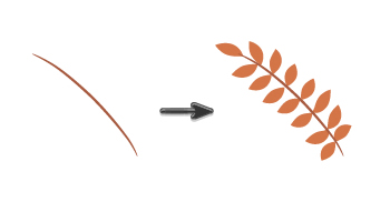 drawing the brown twig