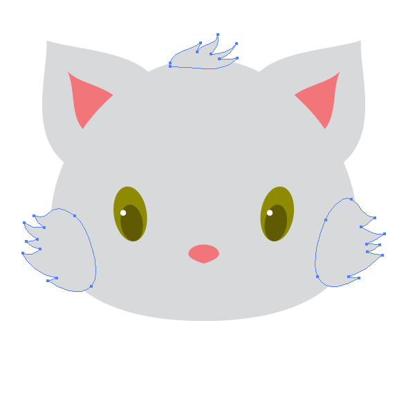 drawing the fur