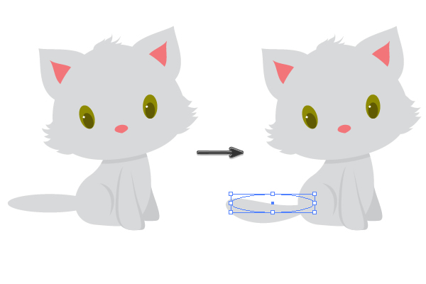 creating and placing the tail