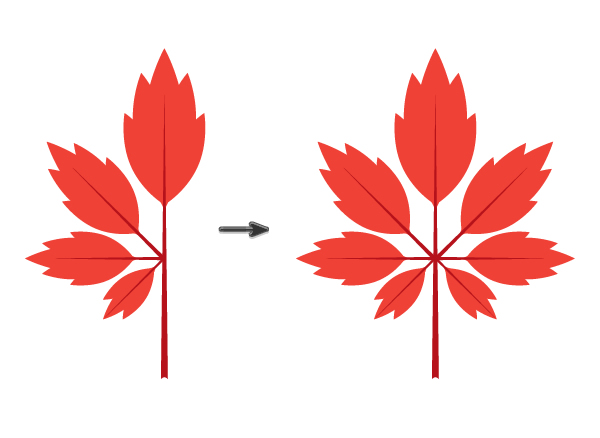 creating the maple leaf 5