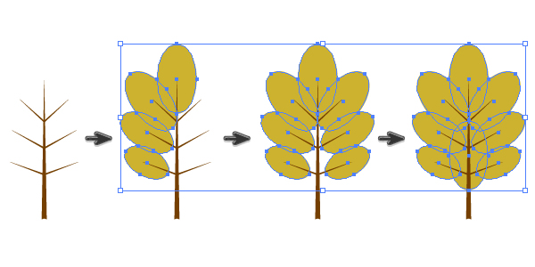 how to draw a leaf in illustrator