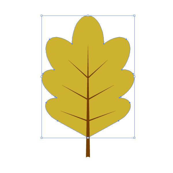 creating the oak leaf 2