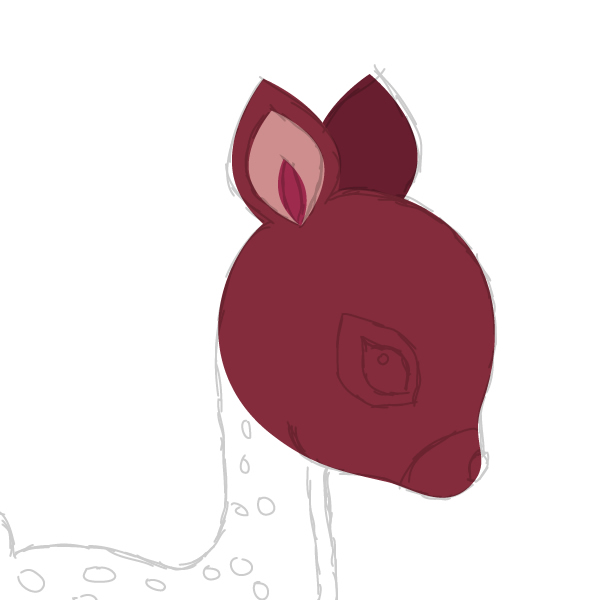 drawing the second ear