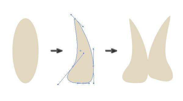 creating a base shape of the garlic 2