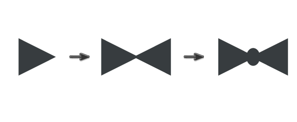 creating the bowtie