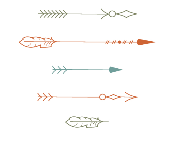 coloring the arrows