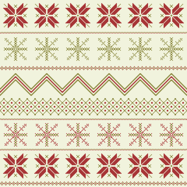 How to Create a Winter Fair Isle Pattern in Adobe Illustrator