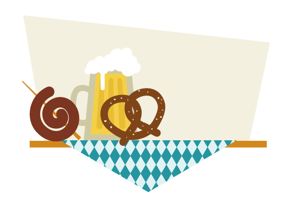placing the bavarian spiral sausage