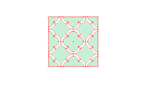 croping the repeating shapes