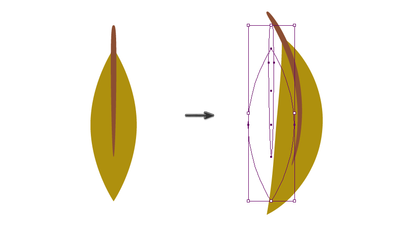 warping the leaf