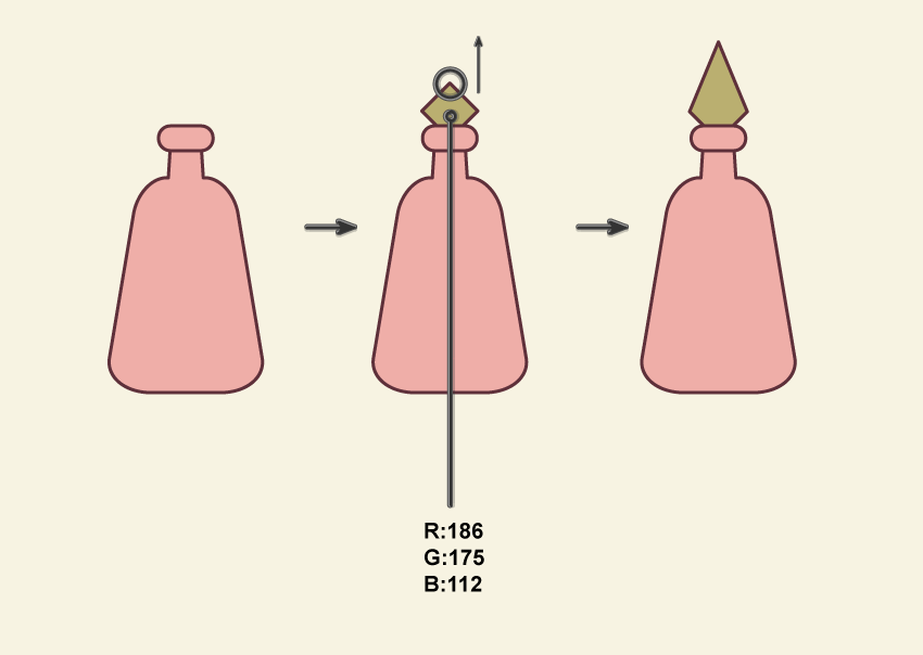creating the first bottle 2