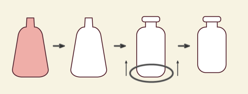 creating the third bottle