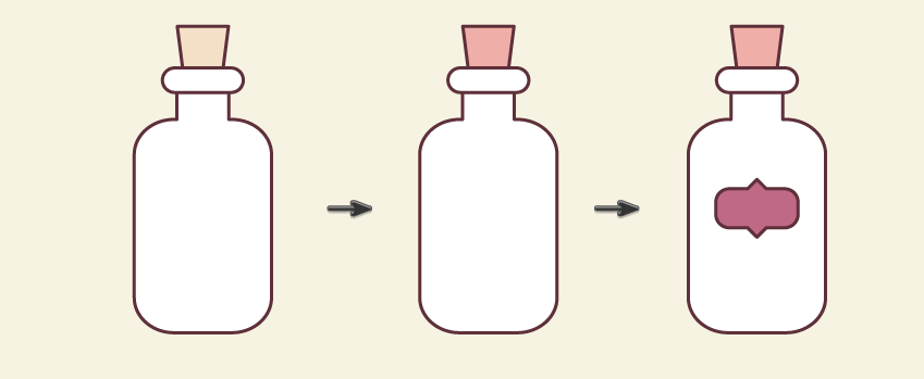 creating the third bottle 2