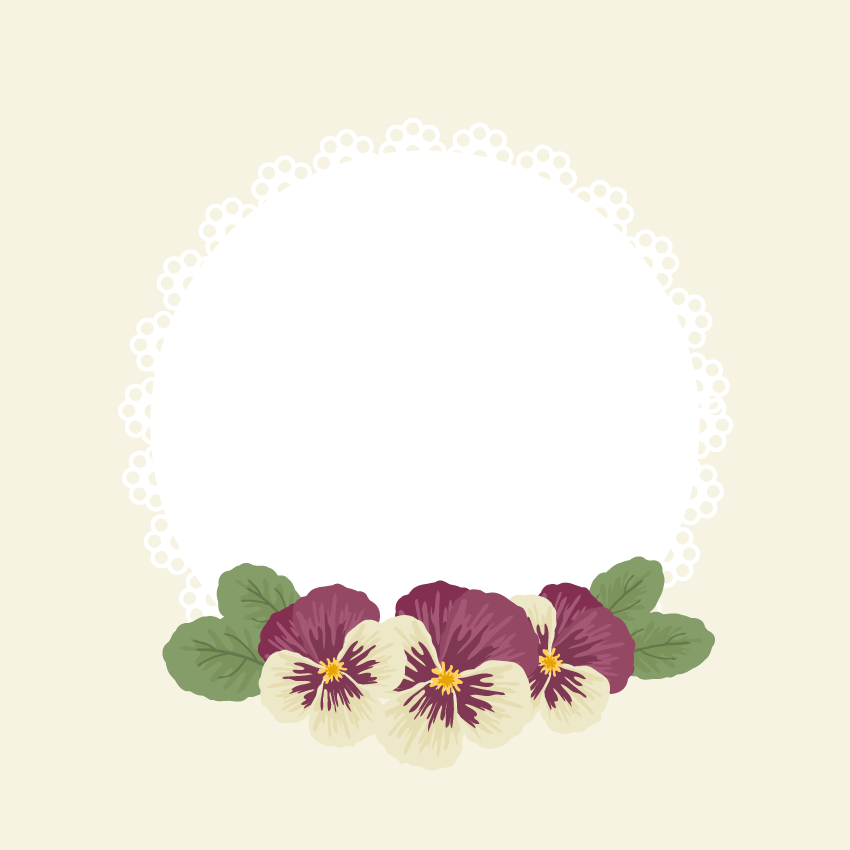 How to Create a Vintage Doily Frame With Flowers in Adobe Illustrator