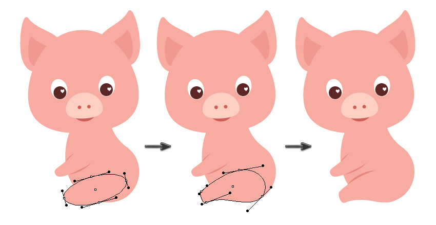 How to Create a Valentine's Piglet Illustration in Adobe Illustrator