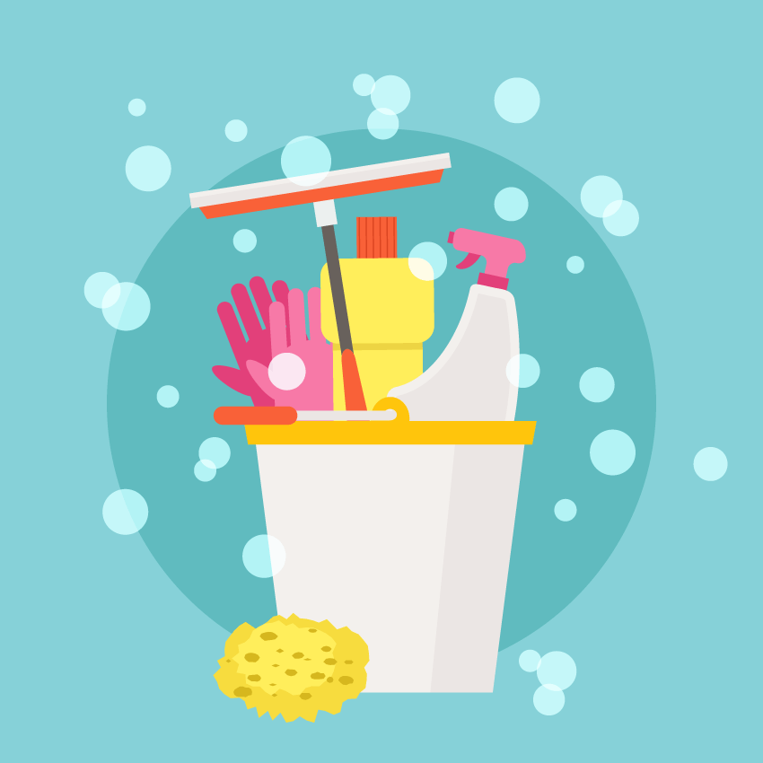How to Create a Spring Cleaning Illustration in Adobe Illustrator