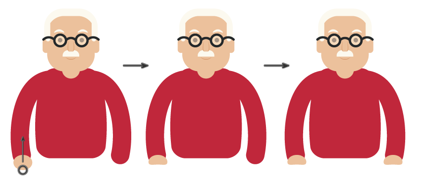 How to Create an Elderly Man Illustration in Adobe Illustrator