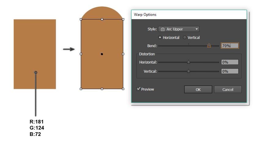 how to create the head