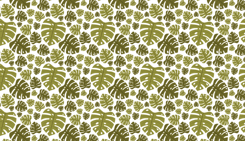 Quick Tip: How to Create a Monstera Leaf Pattern in Adobe ...