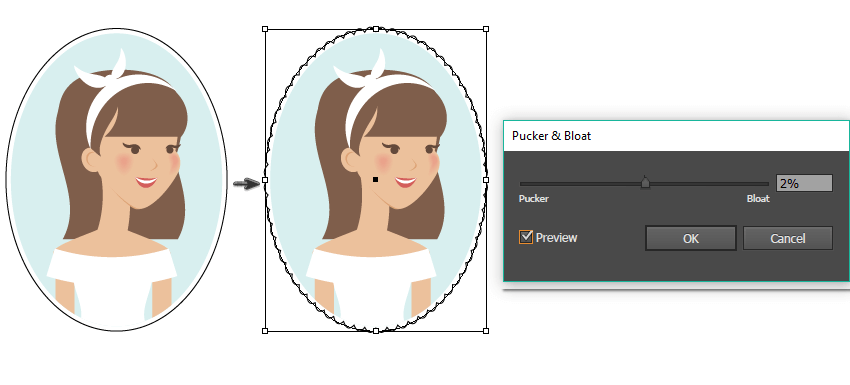 How to Create a Vintage Spring Portrait of a Girl in Adobe Illustrator
